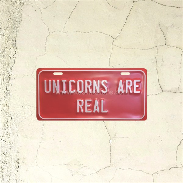 Unicorns Are Real Teneke Tabela